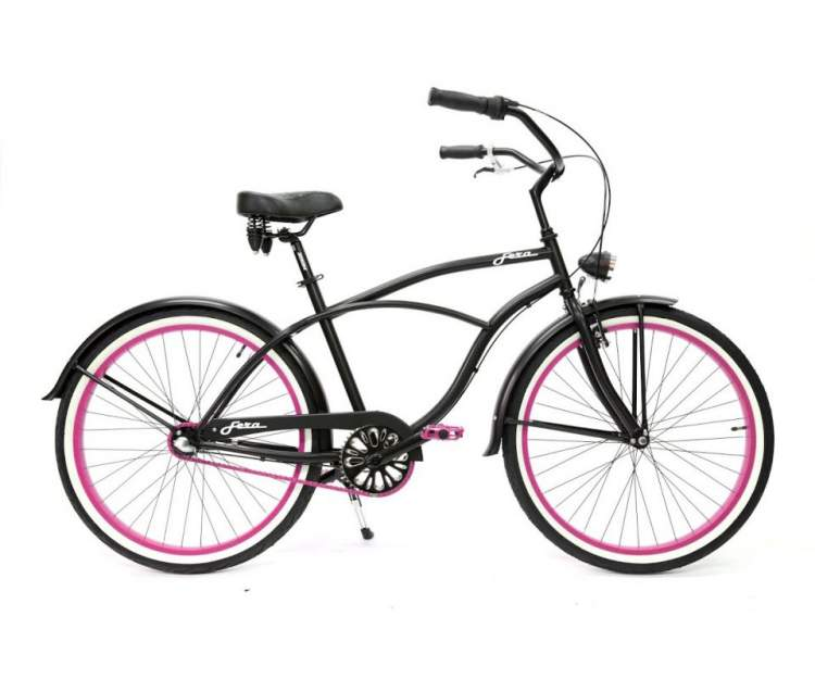 cruiser Fera Bikes Black Rose